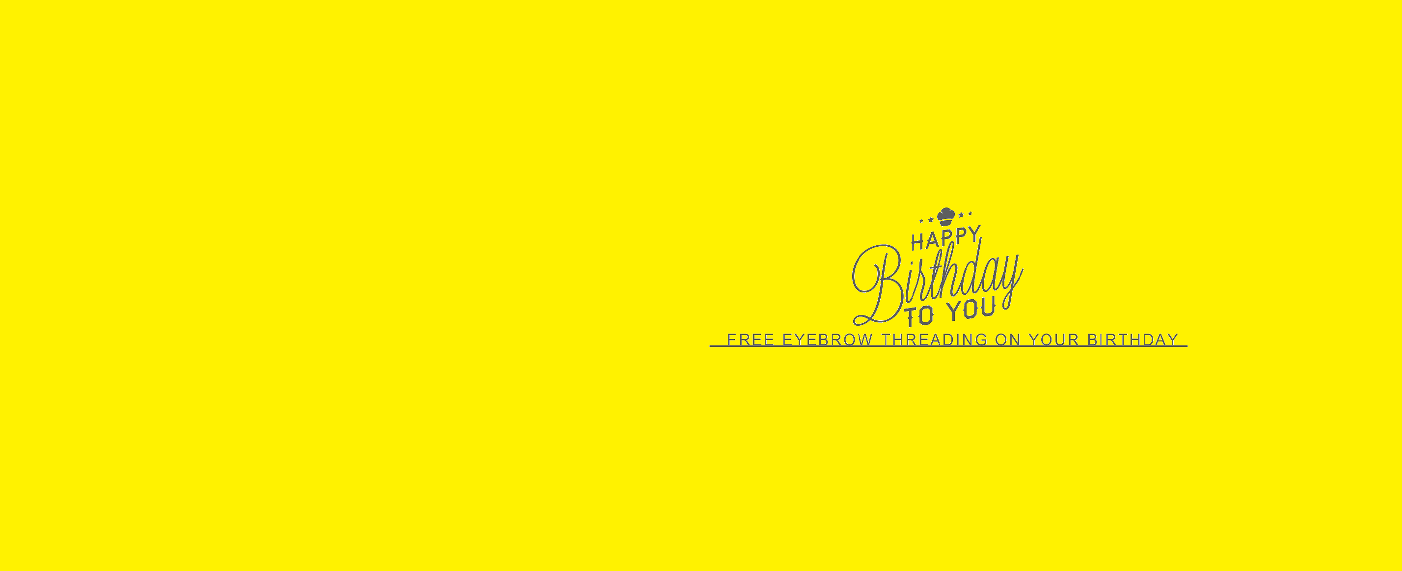 Free Eyebrow Threading On Your Birthday Offers Pinterest Eyebrow