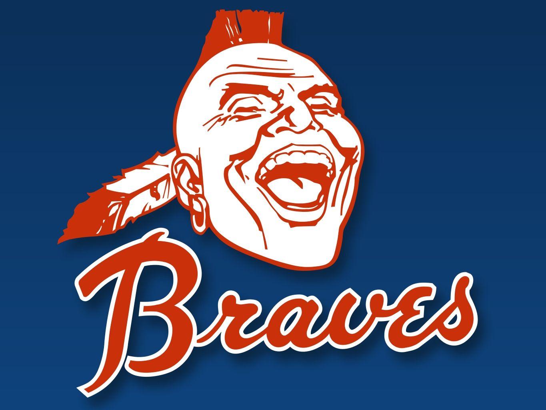Milwaukee Braves Event Logo Atlanta Braves Logo Atlanta Braves Wallpaper Atlanta Braves