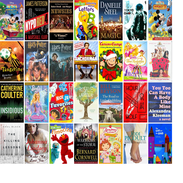 """Wednesday, January 20, 2016: The Chelmsford Public Library has three new bestsellers, 21 new videos, one new audiobook, seven new children's books, and 52 other new books.   The new titles this week include """"Mickey Mouse Clubhouse: Mickey's Storybook Surprises,"""" """"NYPD Red 4,"""" and """"Newsies."""""""