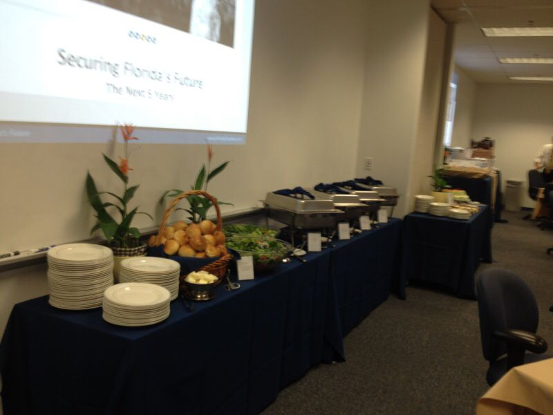 Buffet Set Up For Office Catering Catering Pinterest Office - Office buffet table