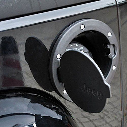 Safaripal Black Gas Door For Jeep Wrangler Jku Jk Jeep