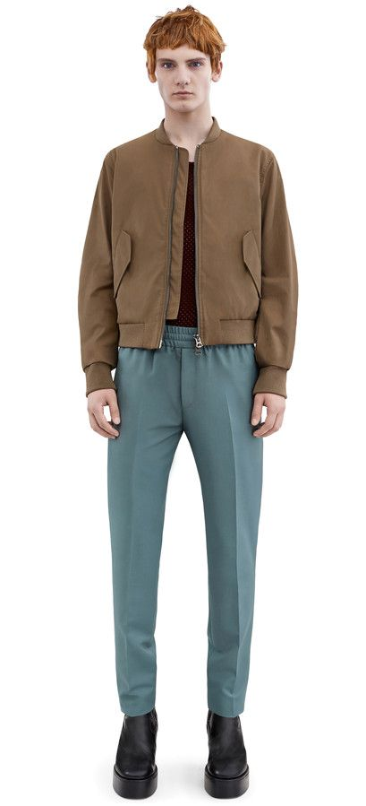 Acne Studios Musik Military Green Everyday bomber jacket ...