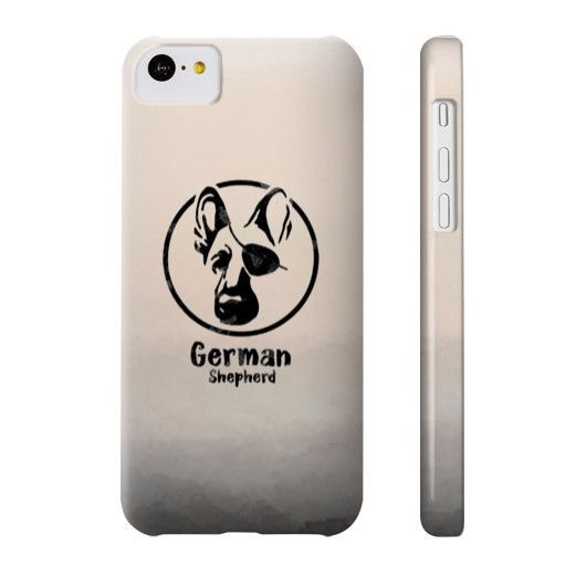 Pirate German Shepherd Phone Case