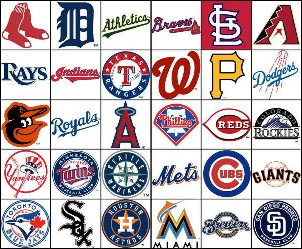 MLB teams by Divisions | It Takes Balls! | Pinterest | Mlb ...