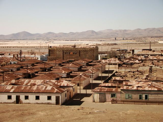 Iquique is home to the mother of all ghost towns, the Humberton mine.