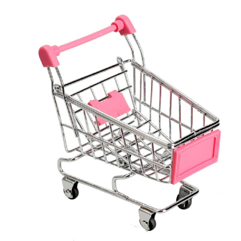 6 75 Awesome 1pcs Mini Supermarket Shopping Trolley Phone Holder Office Desk Storage Shopping Cart Toy H Folding Shopping Cart Toy Supermarket Shopping Cart