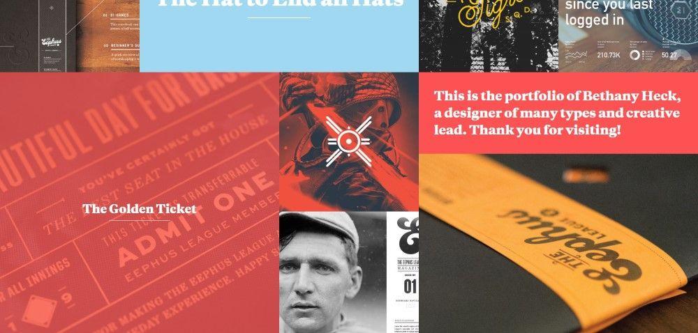 Inspiration Web Graphic Design Portfolio Heck House