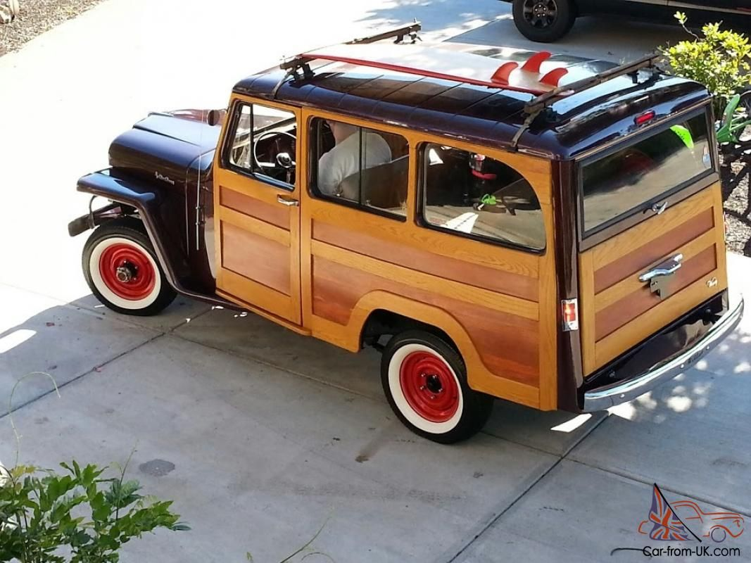 Willys surf 1961 willys real woody woodie surf jeep rare