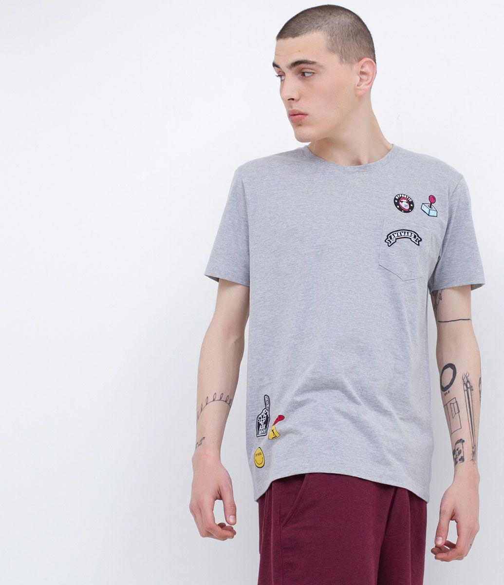 Camiseta com Patches - Lojas Renner
