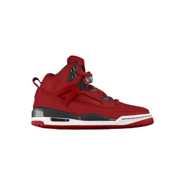 new product ee4c9 c3fb2 Nike Jordan Spizike iD Custom Women s Basketball Shoes - Red, 5 ( 210) ❤  liked on Polyvore