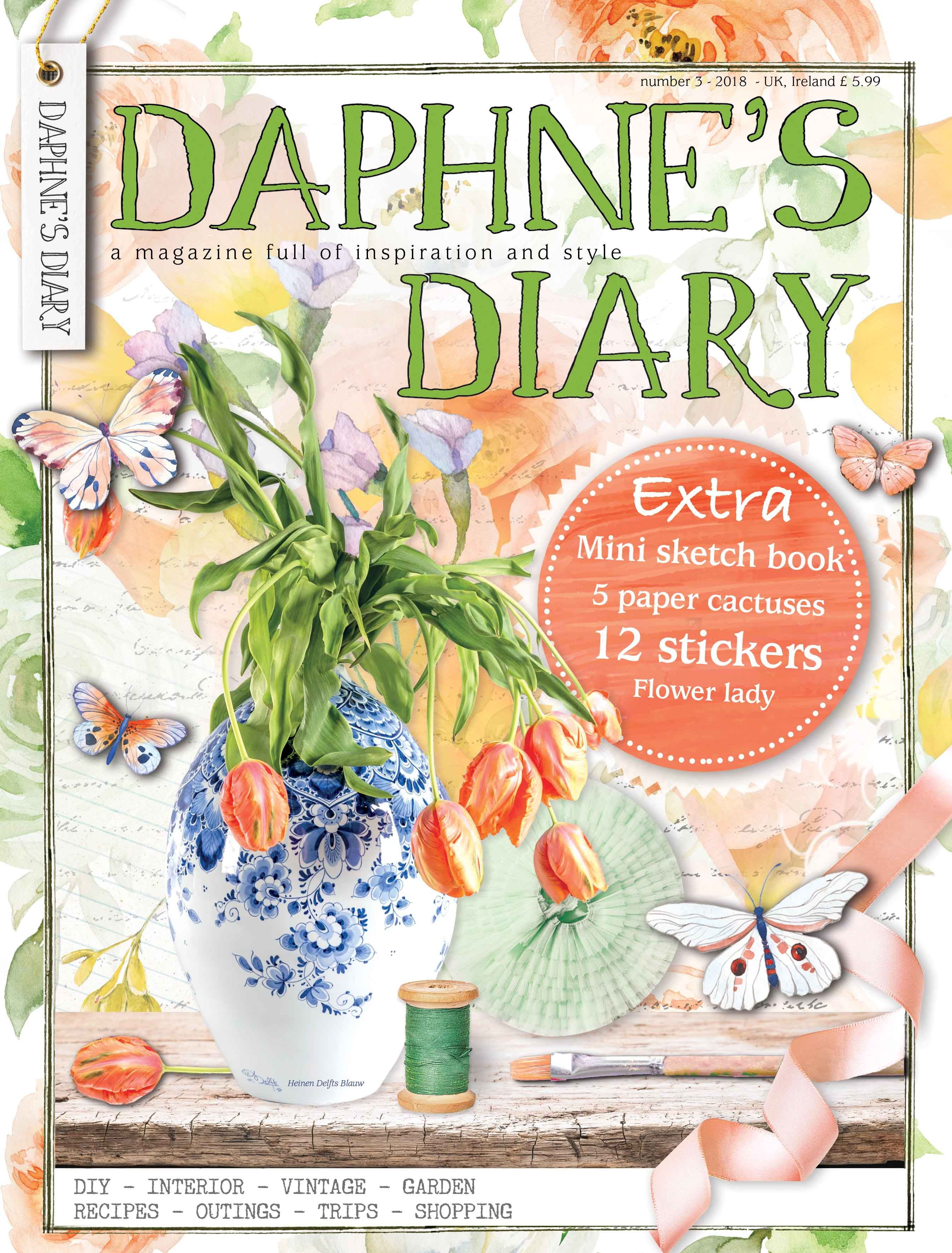 Number 5 Daphnes Diary Magazine 2018