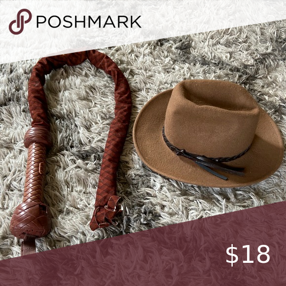 Sold Indiana Jones Costume Hat And Whip Indiana Jones Costume Costume Hats Indiana Jones