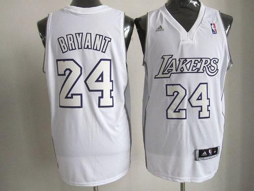 8689db54efd Lakers  24 Kobe Bryant White Big Color Fashion Embroidered NBA Jersey ! 22.50USD