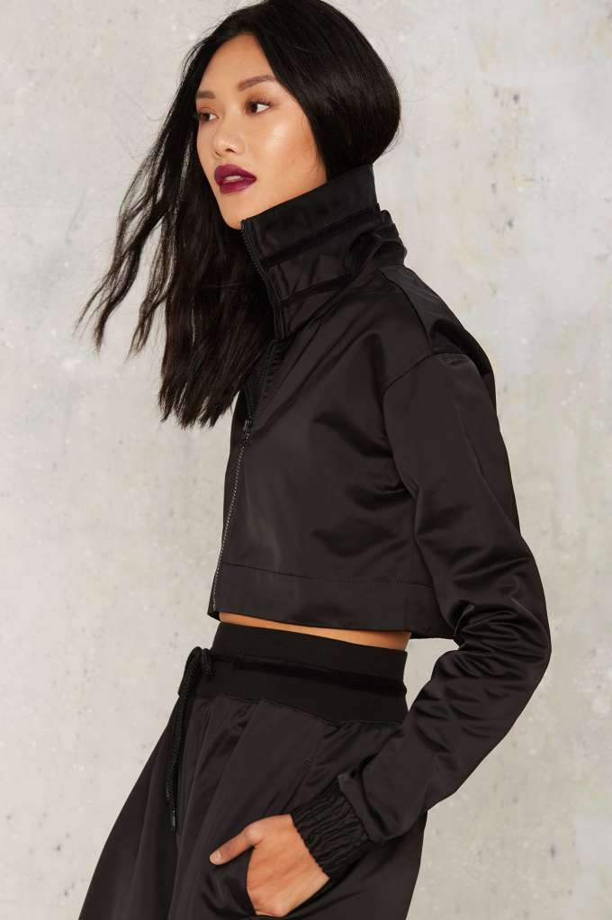 FENTY PUMA by Rihanna Cropped EZ Track Jacket - Clothes | The ...