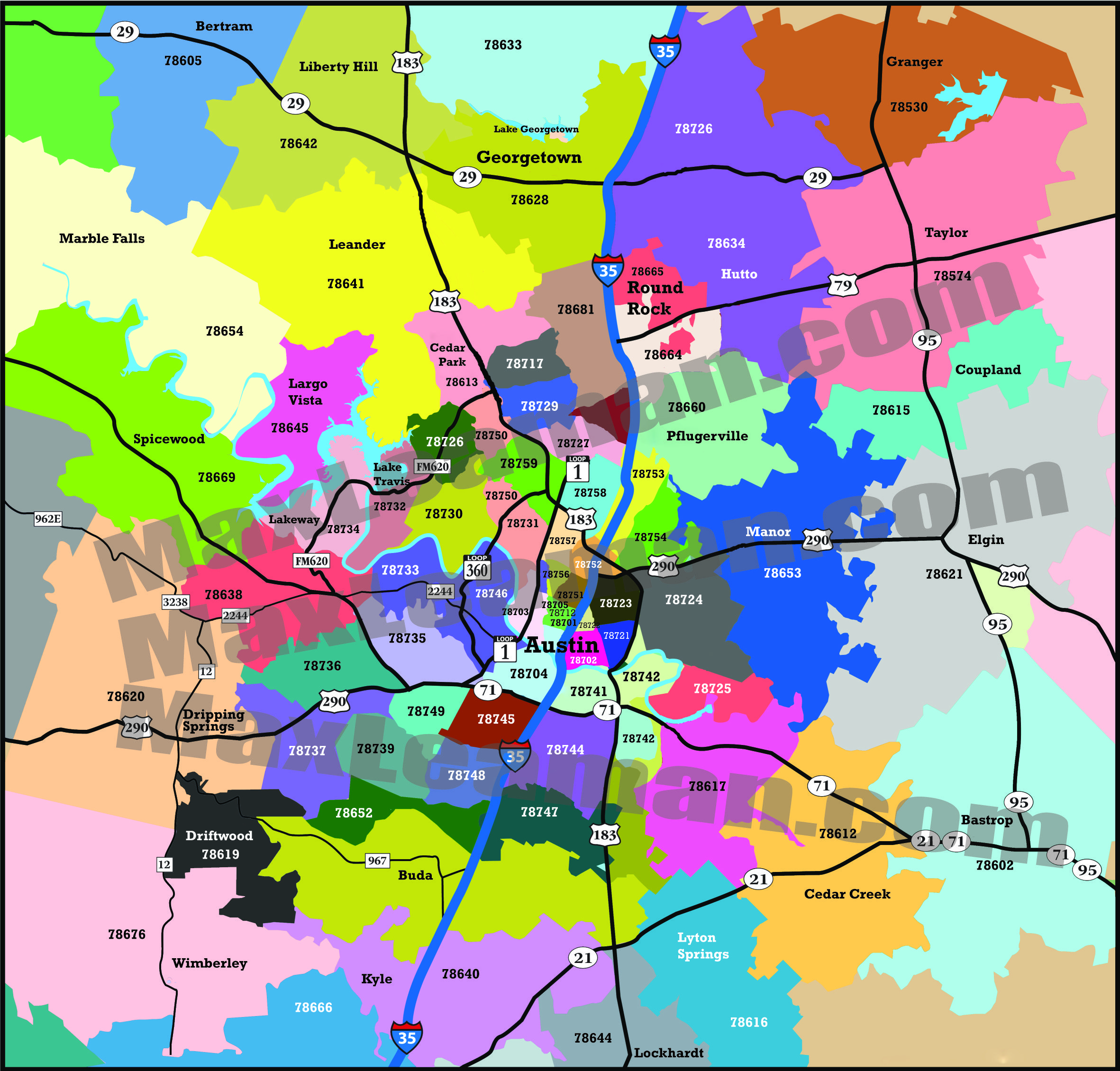 Beaumont Texas Zip Code Map