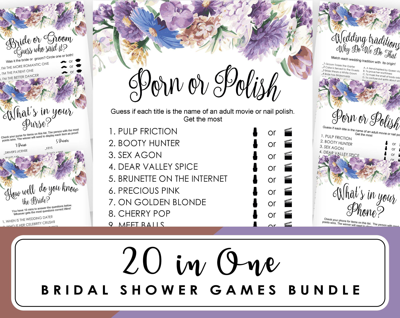 Bridal Mad Libs Bridal Shower Games Printables Bridal