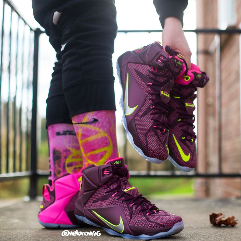best service 3461d 1a5cd Nike LeBron 12 'Double Helix' | Dream Kicks | Sneakers nike ...