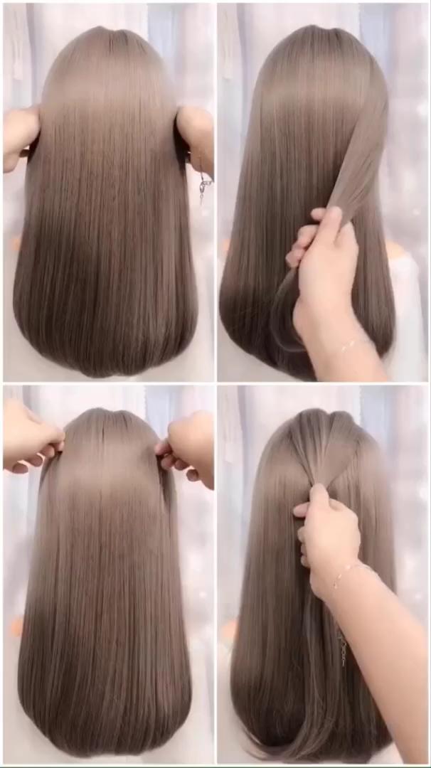 Hairstyles For Long Hair Videos Hairstyles Tutorials Compilation 2019 Part 335 Hairstyletutorials Lange Haare Video Frisuren Langhaar Lange Haare
