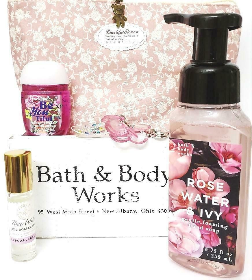 Bath Body Works Rose Water Ivy Hand Soap Roller Pocketbac