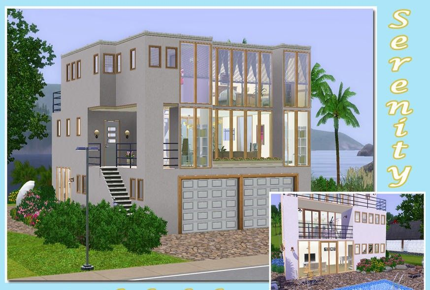 LIVING DESIGN] STAR HOUSE THE SIMS 3 | sims3 House my Gallery ...
