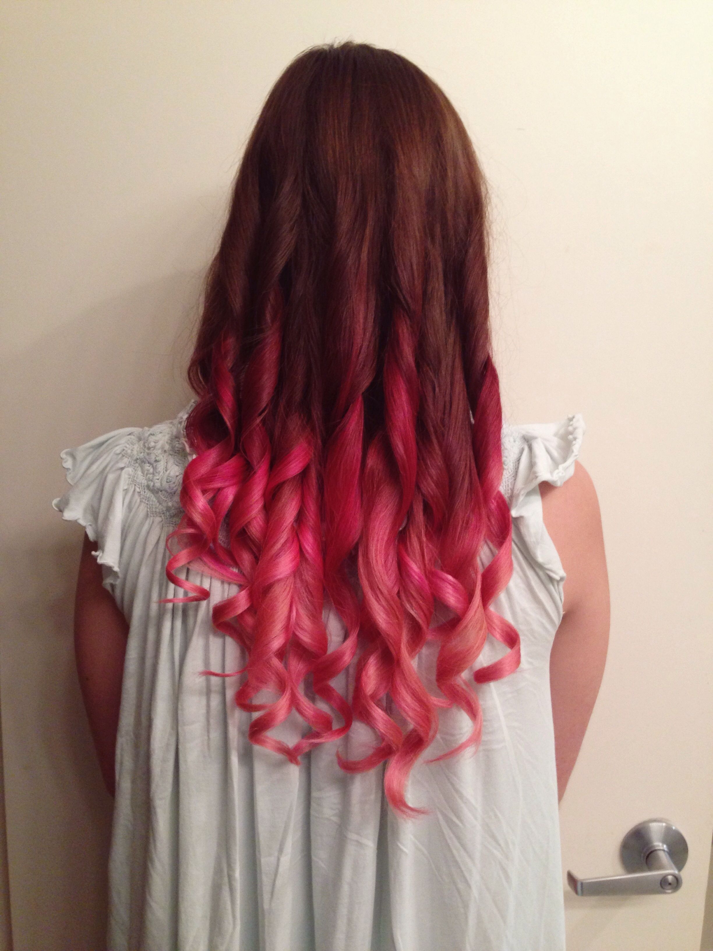 Pin By Radiant Summer Days On Beauty Dyed Hair Ombre Hair With Flair Pink Cotton Candy