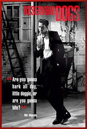 RESERVOIR DOGS Poster TV Movie Photo Poster 24 by 36 inch|