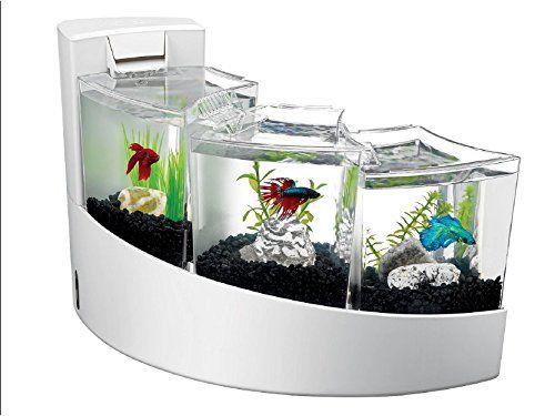 aqueon kit betta falls for multiple betta fish aquariums fish bowls and fish tanks. Black Bedroom Furniture Sets. Home Design Ideas