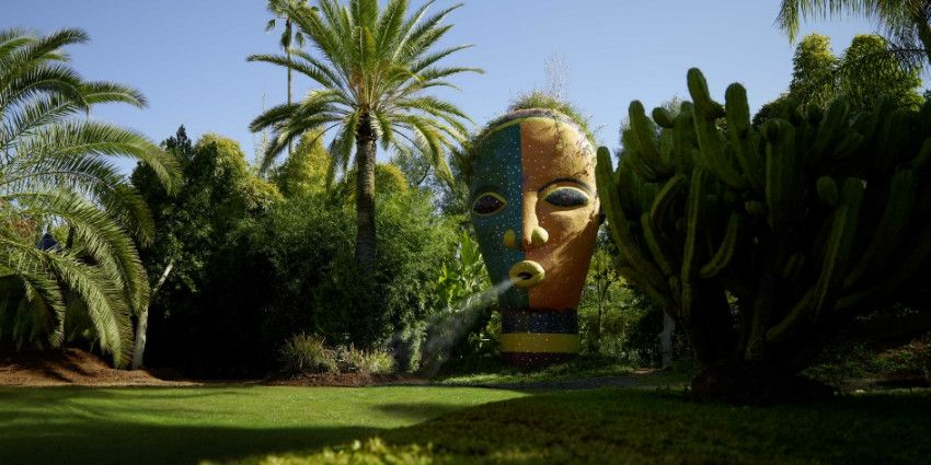 Jardin Anima Andre Heller Offre Son Paradis A Marrakech Photos Marrakech Fleur Jardin Jardins