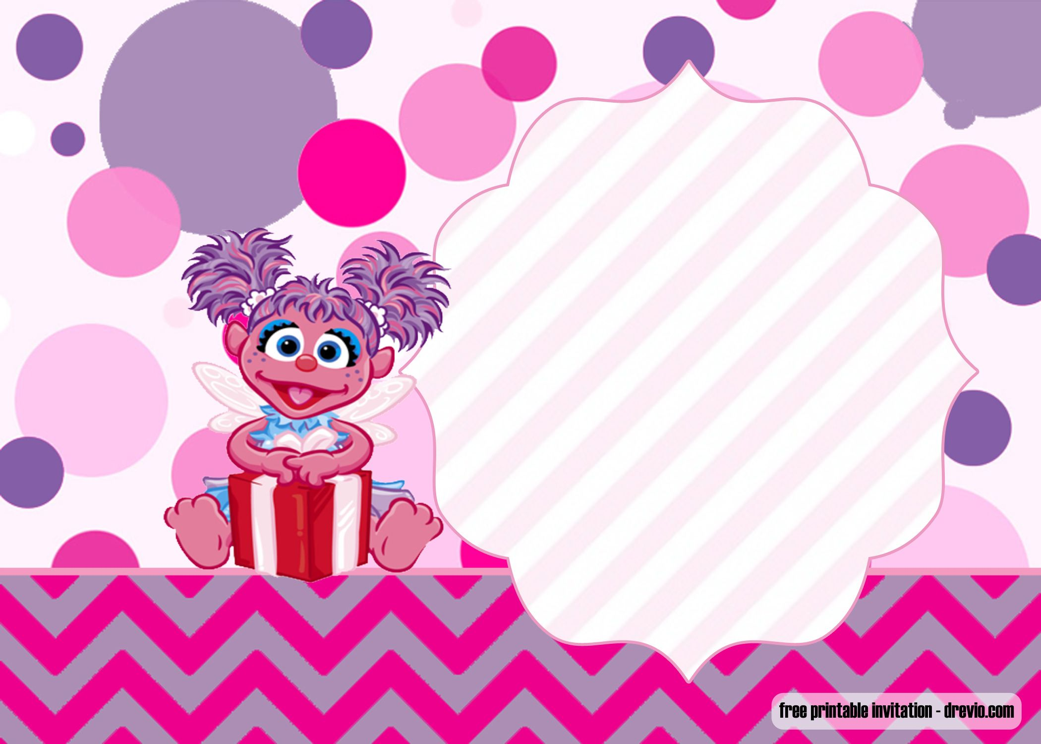 Free Printable Abby Cadabby Invitation Free Printable Birthday