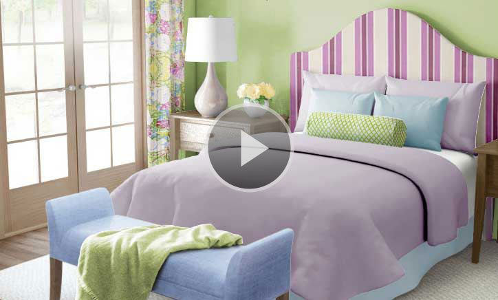 how to use fabric to pick a color scheme bedroom color on how to choose interior paint color scheme id=23097
