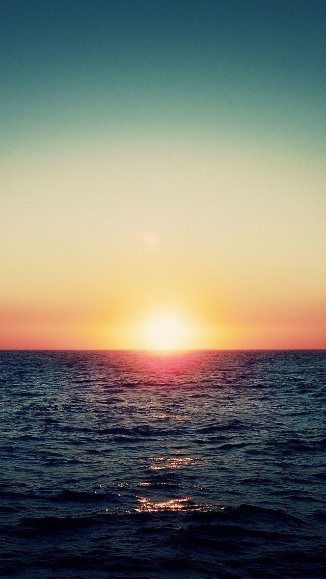 Beautiful Sunset Wallpaper Landscape Pictures Iphone Wallpaper Ocean Sunset
