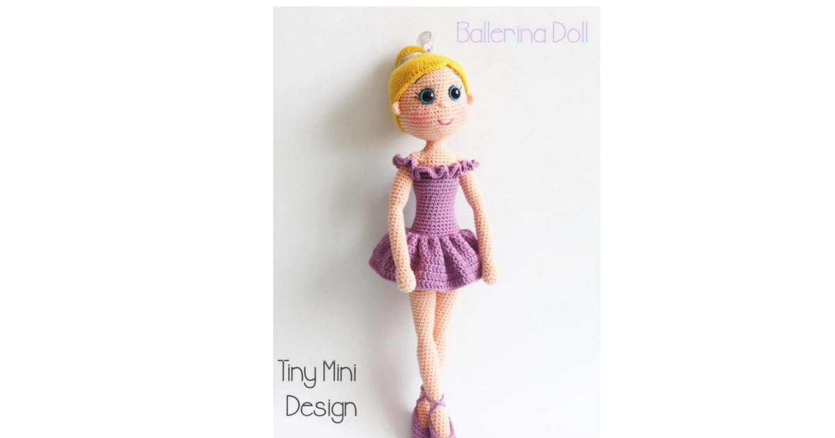 Patrón Muñeca Bailarina Amigurumi Crochet.pdf | Lucero o | Pinterest ...