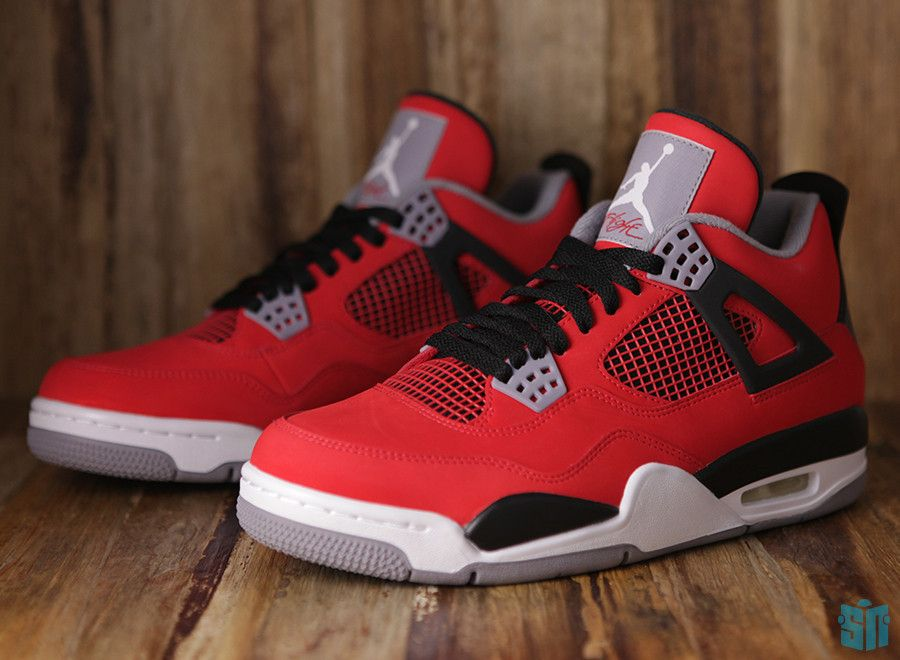 best-seller à vendre Air Jordan Retro 4 Thérapie Au Laser Rouge Orange 100% Original en vrac modèles vente grand escompte JJ2qSS
