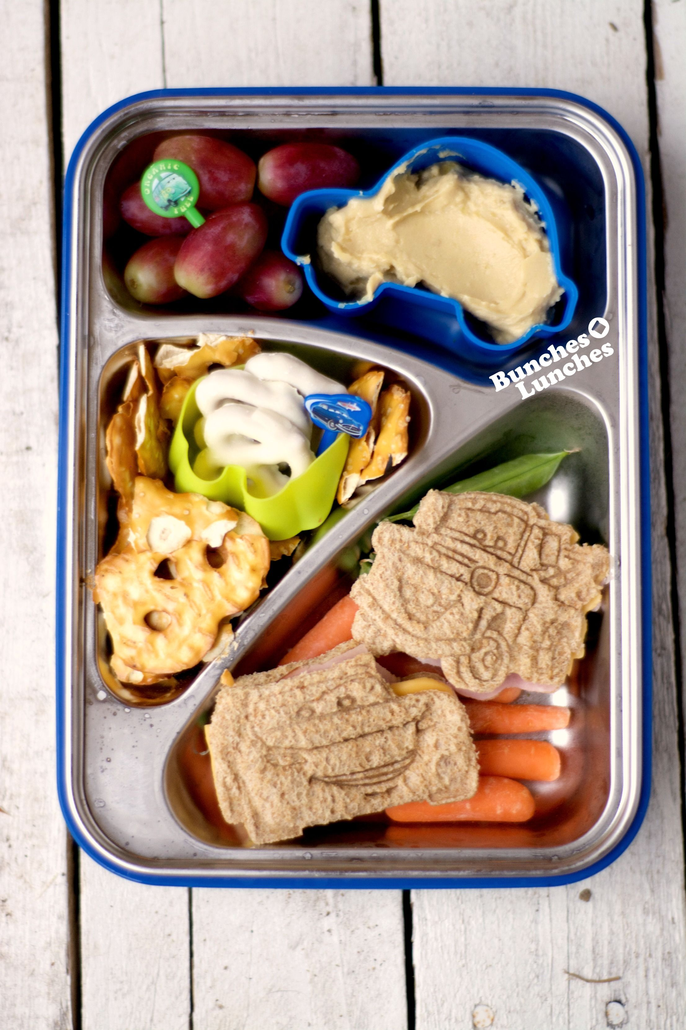 Disney Cars Lunch (With images) Healthy lunches for kids