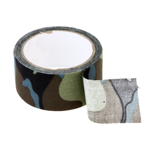 (3.59$)  Watch here - http://ai0uv.worlditems.win/all/product.php?id=Y0857CF2 - 10m Outdoor Water Repellent Camouflage Cotton Cloth Tape Outdoor Hiking Camping Hunting Cycling Camouflage Tape