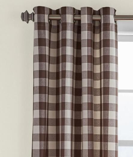 Buffalo Check Grommet Top Curtains Country Curtains Buffalo