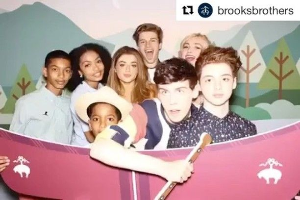 """50 Likes, 4 Comments - STYLED BY VA (@styledbyva) on Instagram: """"New work : @thomasbarbusca for @stjude x @brooksbrothers Charity event 😘 BB @briellebarbusca 🛳🐳…"""""""