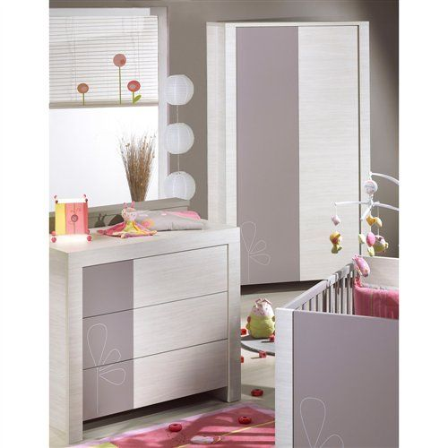 chambre opale taupe avec d cor de sauthon easy la chambre de b b chambre b b pinterest. Black Bedroom Furniture Sets. Home Design Ideas