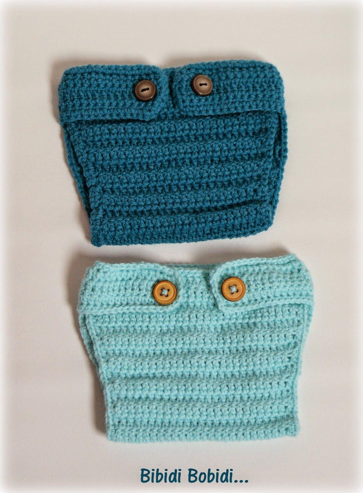 Patron Cache Couche Crochet Bebe Photo Crochet Patron Crochet Knitted Hats