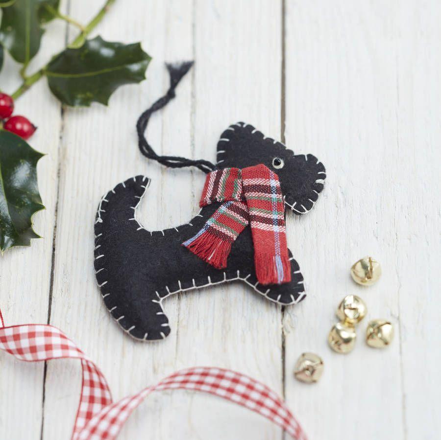 scottie dog christmas decoration - Scottie Dog Christmas Decorations