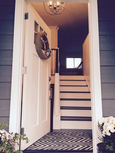 New front entry for split-level house: The Friesen Five Family: 31 Days to a Complete Home Renovation