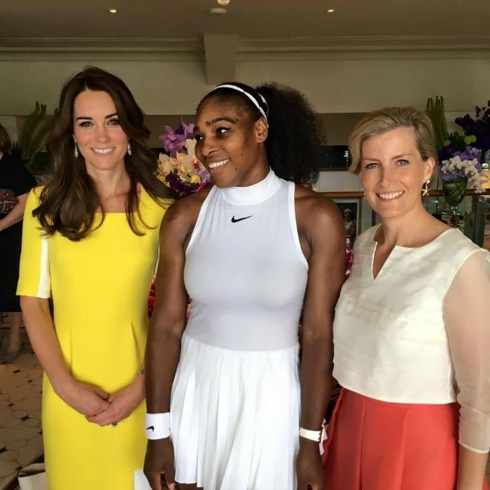 Serena Williams posts new photo with the Duchess of Cambridge