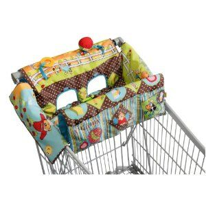 Infantino Shop And Play Shopping Cart Cover Farm Friends This