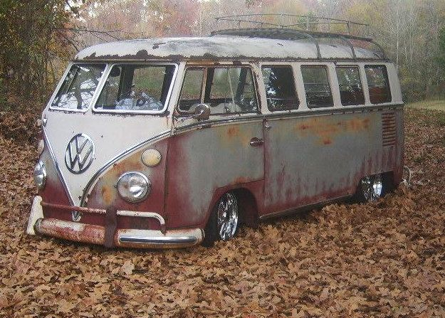 Patina Bus on BRMs