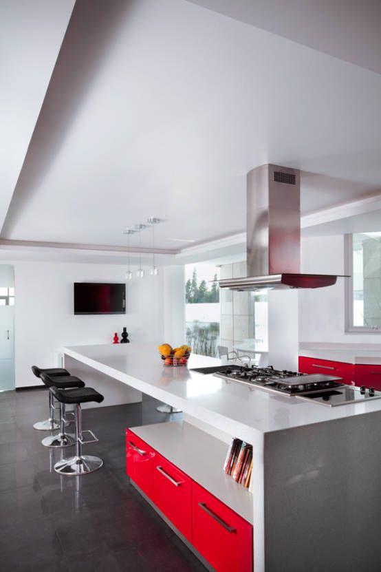 Küche mit Insel 10 fantastische Ideen! Smart kitchen, Corner - küchen modern design