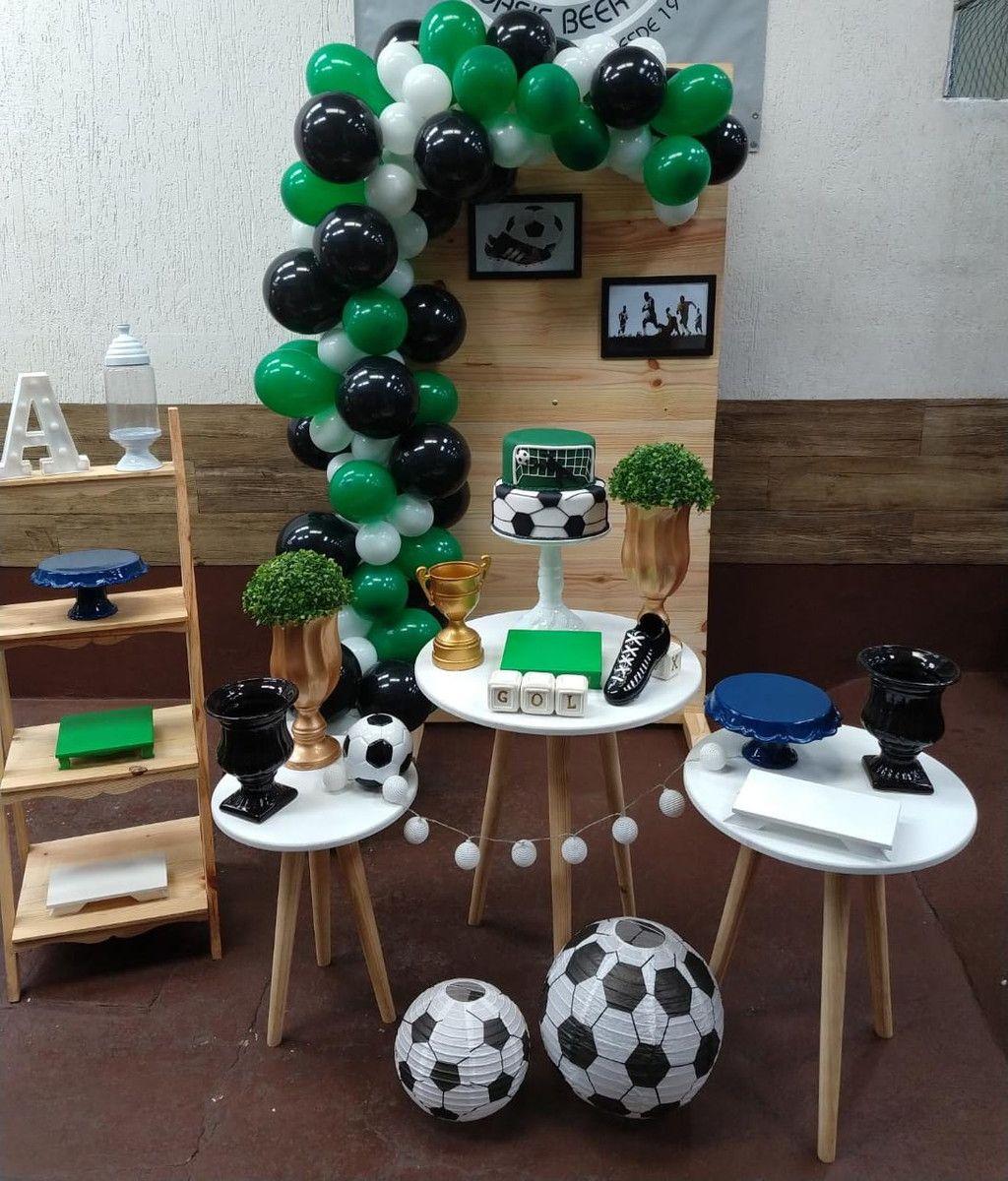 Decoracao De Festa Mini Table Futebol Locacao No Elo7 Lily