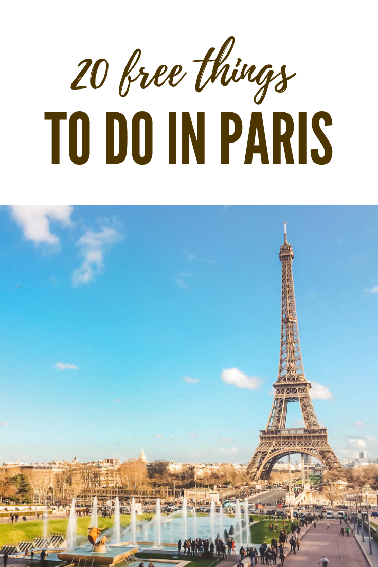 20 Free Things To Do In Paris You Ll Actually Want To Do France Paris Things To Do Paris France Travel Paris