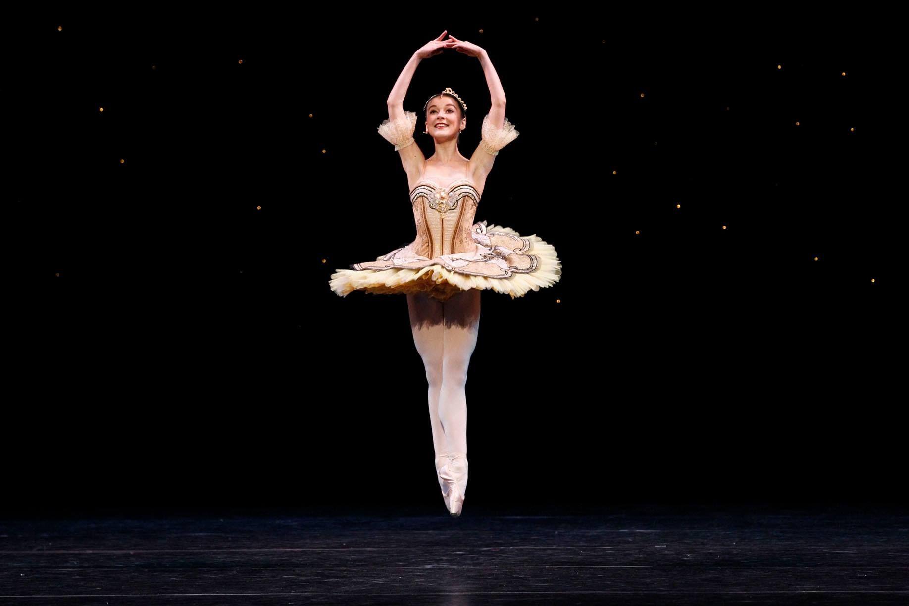 The Australian Ballet's Benedicte Bemet in Pacquita. Photography Jeff Busby #worldtutuday