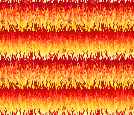 Colorful Fabrics Digitally Printed By Spoonflower Red Hot Rod Flames In 2021 Spoonflower Fabric Fabric Colourful Fabrics