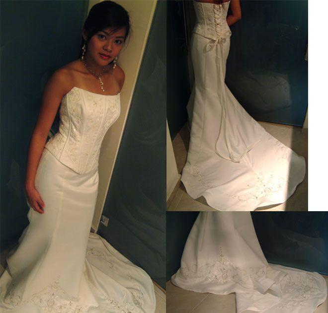 Photo Via Two Piece Wedding DressLatest